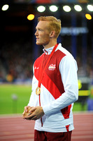 Gregory Rutherford, Mens Long Jump Medal Ceremony _86890