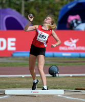 U15 Girl Shot Put _ 147401