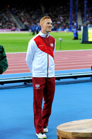 Gregory Rutherford, Mens Long Jump Medal Ceremony _86857