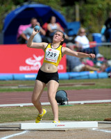 U15 Girl Shot Put _ 147389