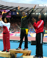Laura Samuel _ Kimberly Williams _ Ayanna Alexander,  Womens Triple Jump Medal Ceremony _72975