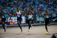 James Dasaolu _ Marvin Bracy _ Michael Rodgers _ Men 100m Semi - Final _ 124877