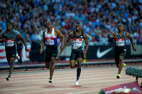 James Dasaolu _ Marvin Bracy _ Michael Rodgers _ Men 100m Semi - Final _ 124874