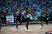 James Dasaolu _ Marvin Bracy _ Michael Rodgers _ Men 100m Semi - Final _ 124876