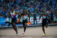 James Dasaolu _ Marvin Bracy _ Michael Rodgers _ Men 100m Semi - Final _ 124881