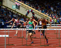 David King _  William Sharman _ Men's 110m Hurdles _ 107301
