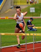 Charlotte Connell _ Junior Girls 75m Hurdles _191130
