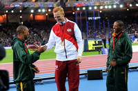 Gregory Rutherford, Mens Long Jump Medal Ceremony _86928