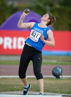 U15 Girl Shot Put _ 147420