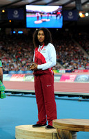 Laura Samuel, Womens Triple Jump Medal Ceremony _72963