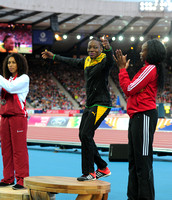 Laura Samuel _ Kimberly Williams _ Ayanna Alexander,  Womens Triple Jump Medal Ceremony _72974
