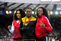 Laura Samuel _ Kimberly Williams _ Ayanna Alexander,  Womens Triple Jump Medal Ceremony _72971