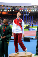 Gregory Rutherford, Mens Long Jump Medal Ceremony _86925
