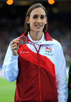 Laura Weightman _ Womens 1500m Medal Ceremony _75251