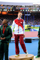 Gregory Rutherford, Mens Long Jump Medal Ceremony _86926
