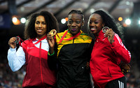 Laura Samuel _ Kimberly Williams _ Ayanna Alexander,  Womens Triple Jump Medal Ceremony _72972