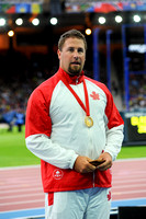 Jim Steacy, Mens Hammer Medal Ceremony  _88233