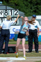 U15 Girl Shot Put _ 147321