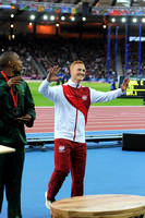 Gregory Rutherford, Mens Long Jump Medal Ceremony _86866