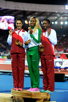 Jodie Williams _ Blessing Okagbare Bianca Williams, Womens 200m Medal Ceremony_10459