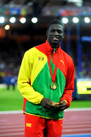 Kirani James, Mens 400m Medal Ceremony  _89314