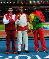 Ashley Bryant _ Damian Warner _ Kurt Felix , Mens Decathlon  _75447