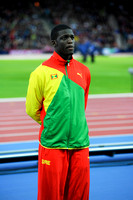 Kirani James, Mens 400m Medal Ceremony  _89291