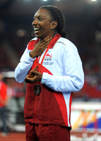 Bianca Williams, Womens 200m Medal Ceremony_10388