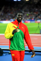 Kirani James, Mens 400m Medal Ceremony  _89265