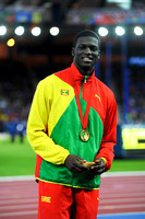 Kirani James, Mens 400m Medal Ceremony  _89313