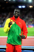 Kirani James, Mens 400m Medal Ceremony  _89267