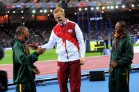 Gregory Rutherford, Mens Long Jump Medal Ceremony _86927