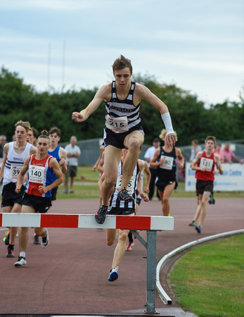 U17 Men 1500m Steeplechase _ 139995
