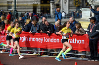 Virgin Money London Marathon 2017 Mini Marathon Team Yellow