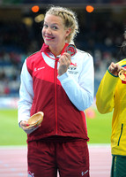 Womens Para Long Jump T37-38 Medal Ceremony