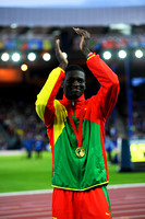 Kirani James, Mens 400m Medal Ceremony  _89331