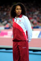 Laura Samuel, Womens Triple Jump Medal Ceremony _72960