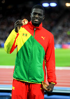 Kirani James, Mens 400m Medal Ceremony  _89271