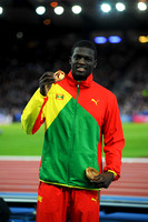 Kirani James, Mens 400m Medal Ceremony  _89268