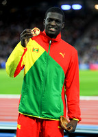 Kirani James, Mens 400m Medal Ceremony  _89270