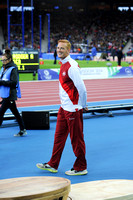 Gregory Rutherford, Mens Long Jump Medal Ceremony _86853