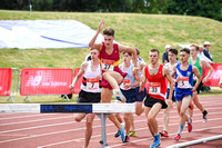 Senior Boys 2000m Steeplechase _ 14996
