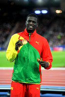 Kirani James, Mens 400m Medal Ceremony  _89266